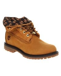Timberland - Brown Authentic Roll Top - Lyst
