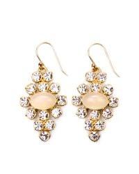 Lulu Frost - Pink Empress Earring in Crystal Opaline - Lyst