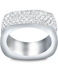 Swarovski - White Vio Ring - Lyst