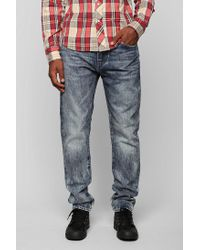 Urban Outfitters | Blue Levis 508 Splatter Slim Jeans for Men | Lyst