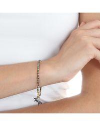 Astley Clarke | Gray Lucky Cat Friendship Bracelet | Lyst