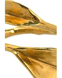 Aurelie Bidermann - Metallic Monteroso Gold-Plated Ring - Lyst
