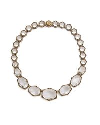 Giles & Brother | Metallic Graduated Georgian Necklace | Lyst