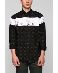 Urban Outfitters - White Staple Flatiron Button down Shirt for Men - Lyst