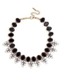 BaubleBar - Black Crystal Conifer Collar - Lyst