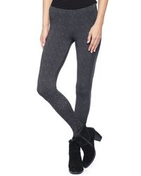 Splendid - Gray Herringbone Legging - Lyst