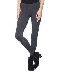 Splendid | Gray Herringbone Legging | Lyst