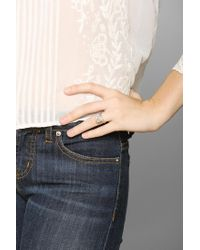 Urban Outfitters | White Macha Rockwell Iii Ring | Lyst