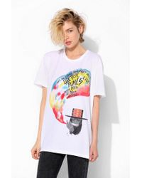 Urban Outfitters | White Converse Electric Fumes Tee | Lyst