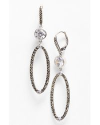 Judith Jack | Metallic Crystal Links Drop Earrings | Lyst