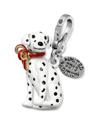 Juicy Couture | Black Silvertone Limited Edition Dalmatian Charm | Lyst