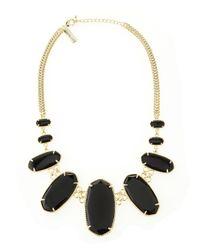 Kendra Scott | Black Ginger Necklace | Lyst