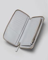 Marc By Marc Jacobs - Metallic Wallet Karma Chameleon Slim Zippy - Lyst