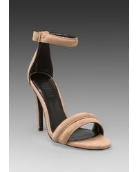 Nicholas - Natural Jocelyn Pump in Taupe - Lyst