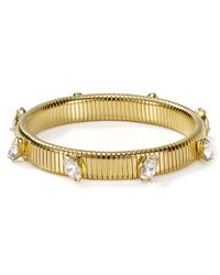 R.j. Graziano - Metallic Holiday Small Stretch Bracelet - Lyst