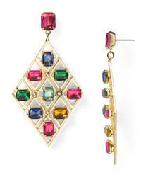 R.j. Graziano - Multicolor Color Luxe Statement Earrings - Lyst