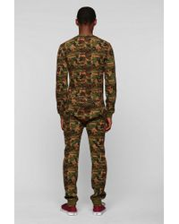 Urban Outfitters | Green Toddland Camo Union Suit for Men | Lyst