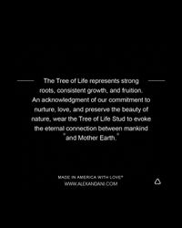 ALEX AND ANI - Metallic Sacred Studs Tree Of Life Post Earrings - Lyst