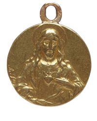 Annina Vogel | Metallic Vintage 9ct Gold Jesus Charm | Lyst