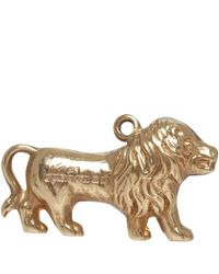 Annina Vogel - Metallic Vintage 9ct Gold Lion Charm - Lyst