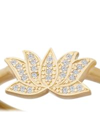 Astley Clarke - Yellow Lotus Ring - Lyst