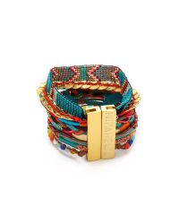 Hipanema - Multicolor Aztec Bracelet - Lyst