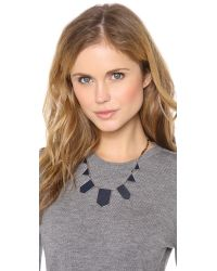 House of Harlow 1960 | Blue Five Station Necklace | Lyst