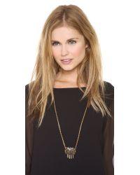 Lulu Frost - Metallic Letiza Pendant Necklace - Lyst