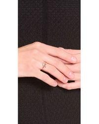 Marc By Marc Jacobs - Metallic Rue Ring - Lyst