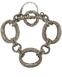 Stephen Dweck | Metallic Silver Engraved Link Bracelet for Men | Lyst