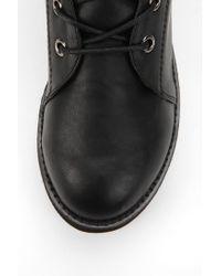 Urban Outfitters - Black Yru Raze Laceup Flatformboot for Men - Lyst