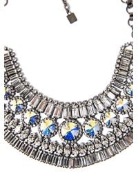 DANNIJO | Metallic Bea Collar Necklace | Lyst