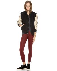Love Leather - Multicolor Lover Letterman Jacket - Lyst