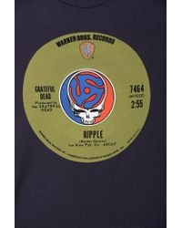 Urban Outfitters | Blue Grateful Dead Ripple Tee for Men | Lyst