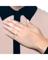 Lulu Frost   Metallic New Code 18kt Exclamation Point Ring   Lyst