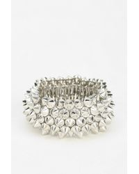 Urban Outfitters - Metallic Exene Stud Stretch Bracelet - Lyst