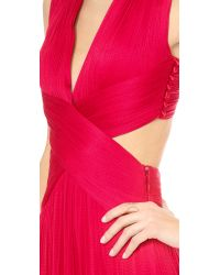 Catherine Deane - Red Sylver Cross Back Gown - Lyst