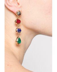Isharya - Metallic Rani Rocks Long Earring - Lyst