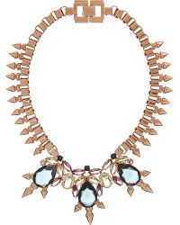 Mawi | Metallic Dynasty Necklace | Lyst