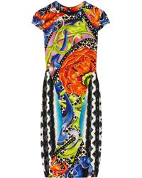 Peter Pilotto | Multicolor Hs Printed Crepe Dress | Lyst