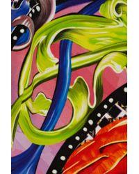 Peter Pilotto - Multicolor Hs Printed Crepe Dress - Lyst