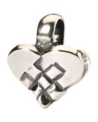 Trollbeads | Metallic Christmas Heart Bead | Lyst