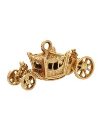 Annina Vogel | Metallic 9ct Gold Vintage Carriage Charm | Lyst