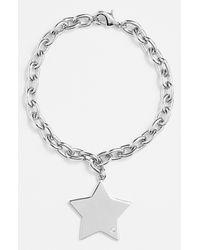 Ariella Collection   Metallic Star Charm Bracelet   Lyst