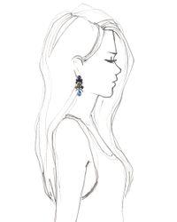 EK Thongprasert - Blue Streptocarpus Saxorum Earrings - Lyst