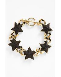 Givenchy | Black Star Toggle Bracelet | Lyst