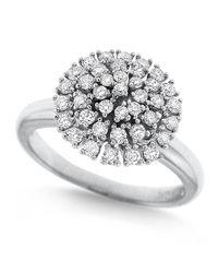 KC Designs - Metallic Diamond Cluster Ring Size 7 - Lyst