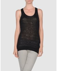 Plein Sud Jeanius | Black Tops | Lyst