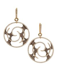 Stephen Webster | Metallic Fly By Night Vortex Large Diamond Earrings | Lyst