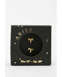 Urban Outfitters - Metallic Zodiac Gift Card Earrings - Lyst